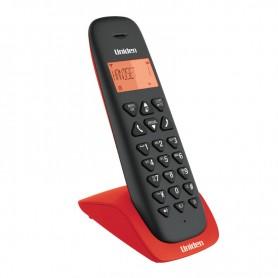 210069Τηλέφωνο Ασύρματο UNIDEN AT-3102 Μαύρο-Κόκκινο