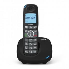 Τηλέφωνο Ασύρματο UNIDEN AT-4104 Με Μεγάλα Πλήκτρα Μαύρο