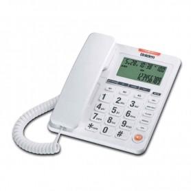 Τηλέφωνο  Επιτραπέζιο  με οθόνη UNIDEN AS7408 Λευκό