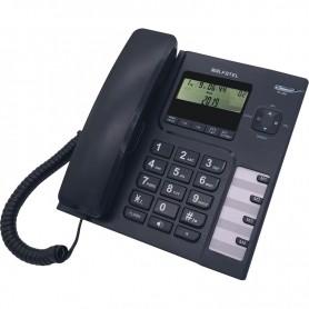 Τηλέφωνο  Επιτραπέζιο ALFATEL 1308 Μαύρο
