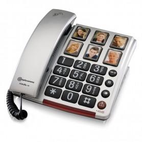 Τηλέφωνο  Επιτραπέζιο AMPLICOMMS BigTel 48 Ασημί