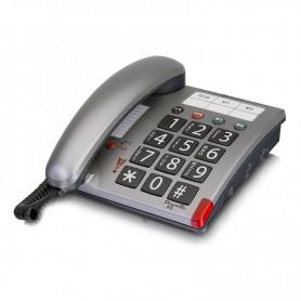 Τηλέφωνο  Επιτραπέζιο AMPLICOMMS PowerTel 46 Ασημί