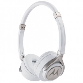 Ακουστικά Ενσύρματα MOTOROLA PULSE 2 Λευκά