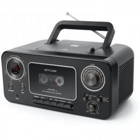 Ραδιόφωνο CD-PLAYER MUSE M-182RDC Μπαταρίας και Ρεύματος  Ψηφιακό