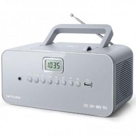 Ραδιόφωνο CD-PLAYER MUSE M-28LG Μπαταρίας και Ρεύματος  Ψηφιακό