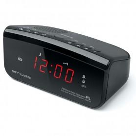 ΡαδιοΡολόι MUSE M-12CR Μπαταρίας Και Ρεύματος  Ψηφιακό
