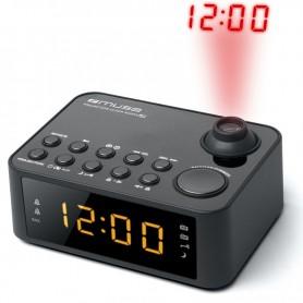 ΡαδιοΡολόι MUSE M-178P Μπαταρίας Και Ρεύματος Μαύρο Ψηφιακό