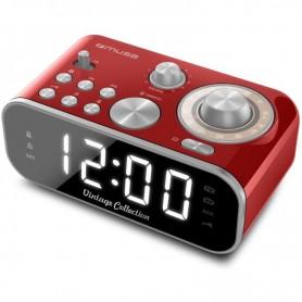 ΡαδιοΡολόι MUSE M-18CRD Ρεύματος Ψηφιακό