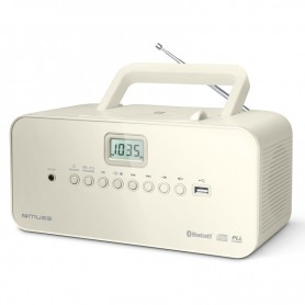 Ραδιόφωνο CD-PLAYER MUSE M-30BTN Μπαταρίας και Ρεύματος  Ψηφιακό