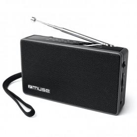 Ραδιόφωνο MUSE M-030R Μπαταρίας και Ρεύματος Μαύρο Αναλογικό