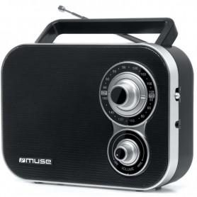 Ραδιόφωνο MUSE M-051R Μπαταρίας και Ρεύματος  Αναλογικό Μαύρο
