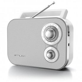 Ραδιόφωνο MUSE M-051RW Μπαταρίας και Ρεύματος  Αναλογικό Λευκό