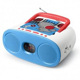 Ραδιόφωνο CD-PLAYER MUSE M-20KDB Μπαταρίας και Ρεύματος Ψηφιακό
