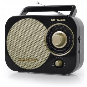 Ραδιόφωνο MUSE M-055RB Μπαταρίας και Ρεύματος  Αναλογικό