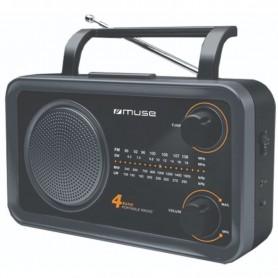 Ραδιόφωνο MUSE M-06DS Μπαταρίας και Ρεύματος Αναλογικό