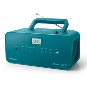 Ραδιόφωνο CD-PLAYER MUSE M-30BTB Μπαταρίας και Ρεύματος Ψηφιακό