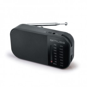 Ραδιόφωνο MUSE M-025R Μπαταρίας Μαύρο Αναλογικό