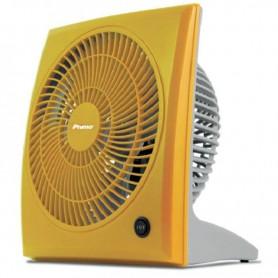 Ανεμιστήρας BOX FAN 9'' 23εκ Κίτρινος