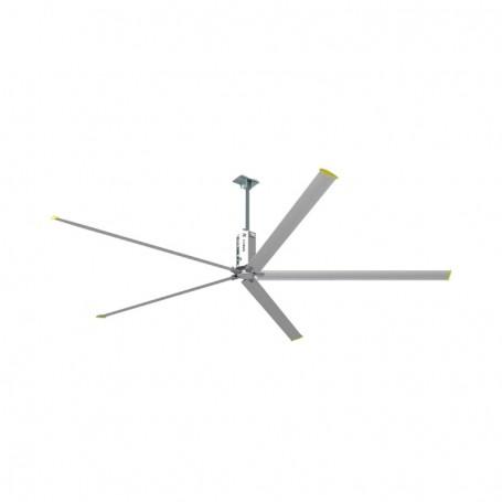 Ανεμιστήρας Οροφής HVLS-D6BAA61 EURUS II Βιομηχανικός. 1.5KW 2200V AC 5 φτερά Διάμετρος 6.1m