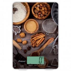 Ζυγαριά Κουζίνας CFC2025-X Ψηφιακή PRIMO 5KG Υάλινη 'BAKING'