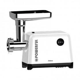 Μηχανή Κιμά + Εξάρτημα Τοματοχυμού PRMG-40290 PRIMO 2000W LOCK POWER Λευκή