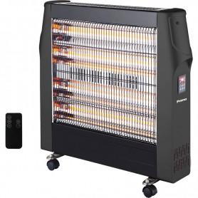 Σόμπα Ηλεκτρική QUARTZ  SYH-1840 2400W Μαύρη