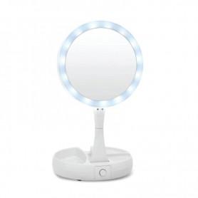 Καθρέφτης Με Φωτισμό 14LED Αναδιπλούμενος GRUNDIG