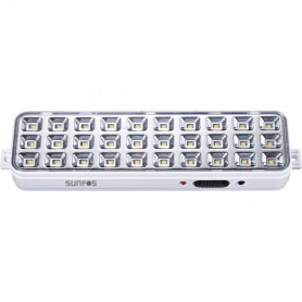 Φωτιστικό Ασφαλείας LT-9830K 30LED Μπαταρία λιθίου 3.7V – 1200mAh