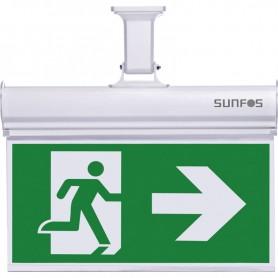 Φωτιστικό Ασφαλείας/Πινακίδα SUEL-30147 Με 2 Σετ Σημάτων 10LED 1.2V 1000ΜAH