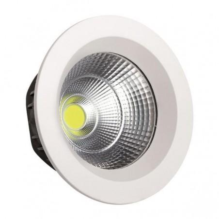 ΦΩΤΙΣΤΙΚΟ COB LED ΧΩΝΕΥΤΟ Φ230 55W 4000K AC85-265V ΛΕΥΚΟ PLUS