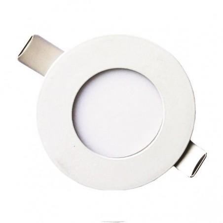 ΦΩΤΙΣΤΙΚΟ ΧΩΝΕΥΤΟ LED SLIM  Φ85 LED 3W 4000K ΛΕΥΚΟ PLUS