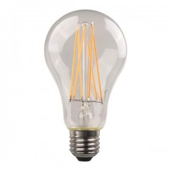 ΛΑΜΠΑ LED ΚΟΙΝΗ CROSSED FILAMENT 9W E27 2700K 220-240V CLEAR