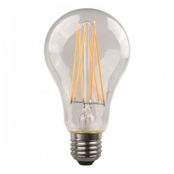 ΛΑΜΠΑ LED ΚΟΙΝΗ CROSSED FILAMENT 9W E27 3000K 220-240V CLEAR