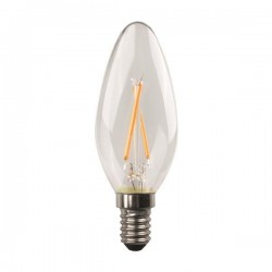 ΛΑΜΠΑ LED ΜΙΝΙΟΝ CROSSED FILAMENT 4.5W E14 4000K 220-240V