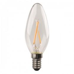ΛΑΜΠΑ LED ΜΙΝΙΟΝ CROSSED FILAMENT 6.5W E14 4000K 220-240V