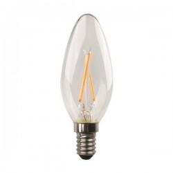 ΛΑΜΠΑ LED ΜΙΝΙΟΝ CROSSED FILAMENT 2.5W E14 3000K 220-240V