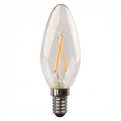 ΛΑΜΠΑ LED ΜΙΝΙΟΝ CROSSED FILAMENT 6.5W E14 6500K 220-240V DIMMABLE