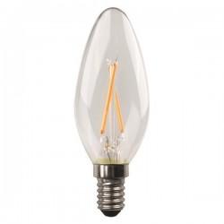 ΛΑΜΠΑ LED ΜΙΝΙΟΝ CROSSED FILAMENT 6.5W E14 3000K 220-240V DIMMABLE