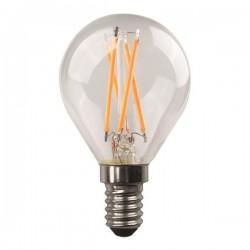ΛΑΜΠΑ LED ΣΦΑΙΡΙΚΗ CROSSED FILAMENT 4.5W E14 3000K 220-240V