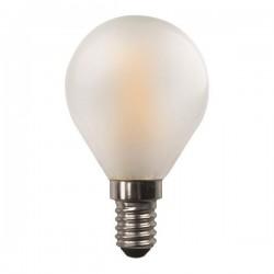 ΛΑΜΠΑ LED ΣΦΑΙΡΙΚΗ CROSSED FILAMENT 4.5W E14 3000K 220-240V FROST