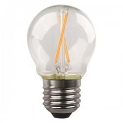 ΛΑΜΠΑ LED ΣΦΑΙΡΙΚΗ CROSSED FILAMENT 4.5W E27 3000K 220-240V