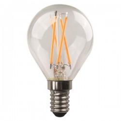 ΛΑΜΠΑ LED ΣΦΑΙΡΙΚΗ CROSSED FILAMENT 6.5W E14 3000K 220-240V DIMMABLE CLEAR