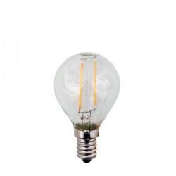 ΛΑΜΠΑ LED ΣΦΑΙΡΙΚΗ FILAMENT 3W E14 2700K 220-240V
