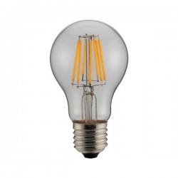 ΛΑΜΠΑ LED ΚΟΙΝΗ FILAMENT 8W E27 6500K 220-240V CLEAR