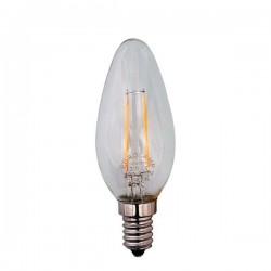 ΛΑΜΠΑ LED MINION FILAMENT 4W E14 6500K 220-240V DIMMABLE CLEAR