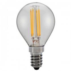 ΛΑΜΠΑ LED ΣΦΑΙΡΙΚΗ FILAMENT 4W E14 6500K 220-240V DIMMABLE CLEAR