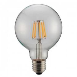 ΛΑΜΠΑ LED ΓΛΟΜΠΟ G95 FILAMENT 8W Ε27 6500K 220-240V DIMMABLE CLEAR