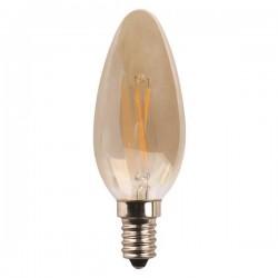 ΛΑΜΠΑ LED ΜΙΝΙΟΝ CROSSED FILAMENT 4.5W E14 2400K 220-240V GOLD DIMMABLE