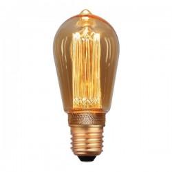 ΛΑΜΠΑ LED ST64 3.5W E27 2000K 220-240V GOLD DIMMABLE