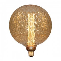 ΛΑΜΠΑ LED ΓΛΟΜΠΟΣ G200 3,5W Ε27 2000K 220-240V GOLD GLASS DIMMABLE
